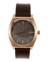 Nixon Wrist Watches Dark Brown