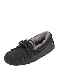 Ugg Dakota Sparkle Slippers Black