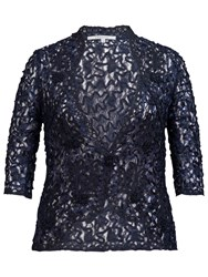 Chesca Cornelli Lace Jacket Navy