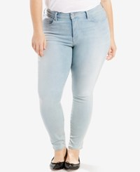 Levi's Plus Size 310 Shaping Super Skinny Jeans Golden Days