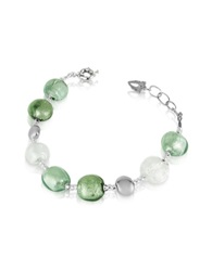 Antica Murrina Veneziana Frida Murano Glass Bead Bracelet Crystal