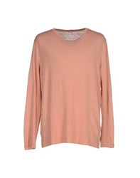 Massimo Alba Topwear T Shirts Men Salmon Pink