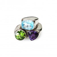 Isabel Englebert Lucky Three Stone Ring