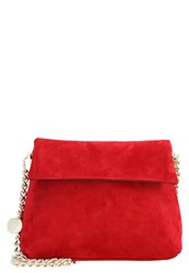 Karen Millen Winter Streets Across Body Bag Red