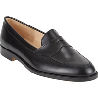 Manolo Blahnik Vazca Penny Loafers Black