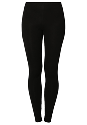 Zalando Essentials 2 Pack Leggings Black Black