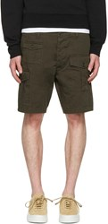Dsquared2 Green Cargo Shorts