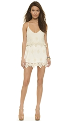 Liv Anna Tiered Dress Ivory