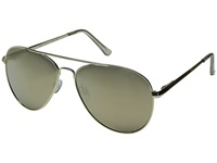 Le Specs Drop Top Gold Gold Revo Mirror Fashion Sunglasses