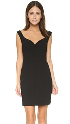 Black Halo Ally Mini Dress Black