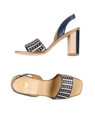 8 Footwear Sandals Women Dark Blue