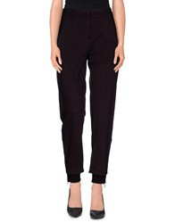 I'm Isola Marras Trousers Casual Trousers Women Dark Purple