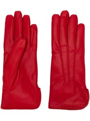 Omega Classic Gloves Red