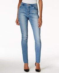 Nanette By Nanette Lepore Gramercy High Rise Skinny Sapphire Wash Jeans