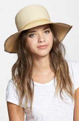 Rag And Bone 'Lily' Straw Sun Hat Natural Multi