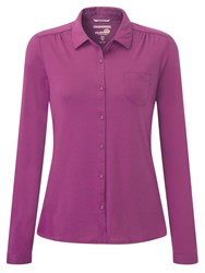 Craghoppers Kaile Long Sleeved Shirt Pink