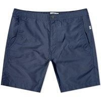 Onia Calder 7.5 Solid Swim Short Blue