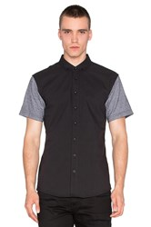 Publish Hans Button Down Black
