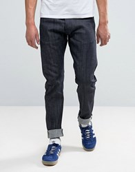 Edwin Ed A1 Red Listed Selvedge Relaxed Fit Jeans Blue