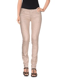 Gaudi' Denim Denim Trousers Women Sand