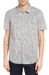 John Varvatos Men's Star Usa Mayfield Slim Fit Print Sport Shirt