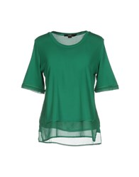 Seventy By Sergio Tegon T Shirts Green