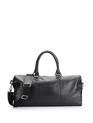 Cole Haan Leather Duffle Bag Black