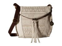 The Sak Silverlake Crossbody Stone Tribal Quilt Cross Body Handbags Beige