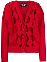 Boutique Moschino Red