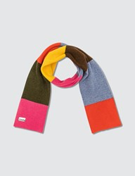 Ganni Multicolored Knit Scarf