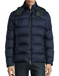 Michael Kors Quilted Duck Down Puffer Jacket Midnight