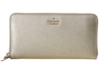 Kate Spade Cameron Street Lacey Gold Wallet