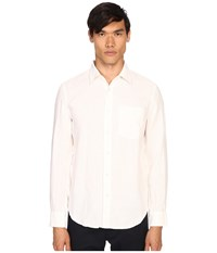 Jack Spade Ferry Trapunto Point Collar Shirt White