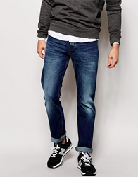 Voi Jeans Regular Straight Fit Jean Mid Wash Blue