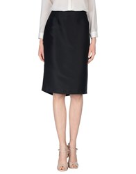 Gai Mattiolo Skirts 3 4 Length Skirts Women Black