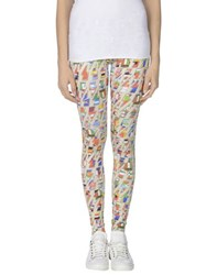 Happiness Trousers Leggings Women Beige
