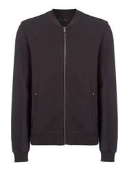 Label Lab Men's Serra Garment Dyed Baseball Sweat Washed Black