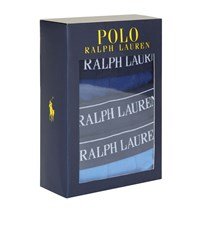 Polo Ralph Lauren Classic Logo Trunks 3 Pack Male