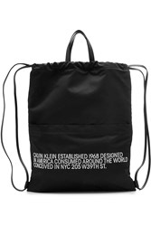 Calvin Klein 205W39nyc Drawstring Backpack Black