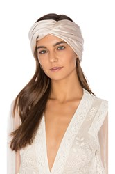 Eugenia Kim Malia Headwrap Blush