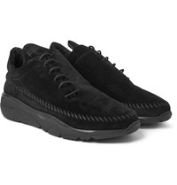 Filling Pieces Apache Runner Suede Sneakers Black