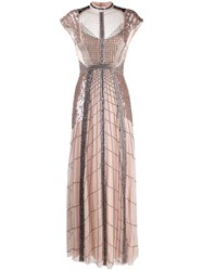 Temperley London Electra Bead Embellished Tulle Gown 60