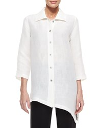 Caroline Rose Long Sleeve Ribwave Shirt Women's