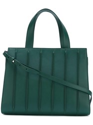 Max Mara Medium 'Whitney' Tote Green