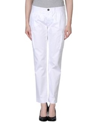 Eleventy Casual Pants White