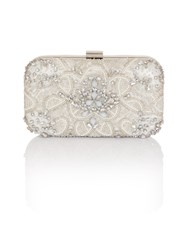 Chi Chi London Hailie Clutch Bag White