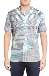 Men's Robert Graham 'Jezreel Valley' Graphic V Neck T Shirt