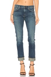 Citizens Of Humanity Jazmin Ankle Slim Straight Blue