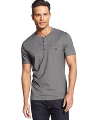 Alfani Big And Tall Pierre Pique Henley T Shirt