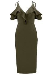 Oh My Love Summer Dress Khaki